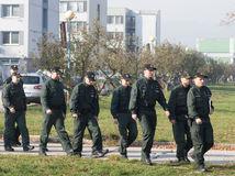 polícia, slovenskí policajti, Slovinsko