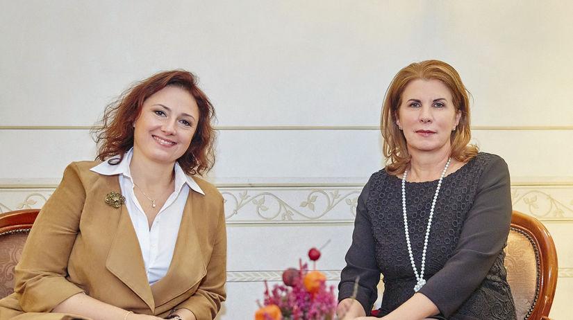 Zuzana Mauréry a Helga Laubender