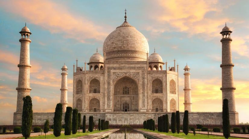 Tadž Mahal, Agra, India, mauzóleum
