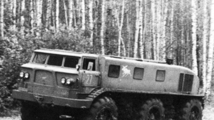 ZIL E167: Ruský Obor Zvládal Sneh Aj Dvojmetrové Priekopy