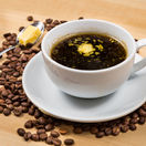 bulletproof coffee, nepriestrelná káva, káva, maslo