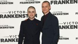 Daniel Radcliffe (vľavo) a jeho kolega James McAvoy
