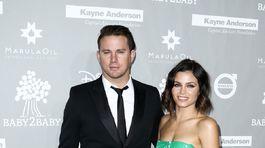 Manželský pár Channing Tatum a Jenna Dewan Tatum.