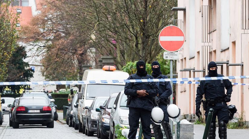 polícia, Brusel