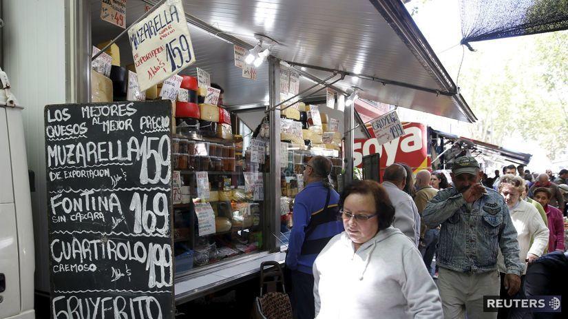 Uruguaj, Montevideo, trh, trhovisko, nakupovanie