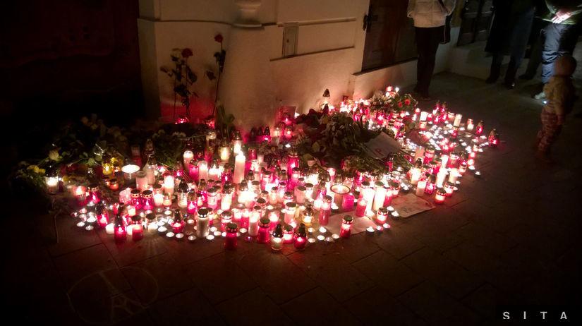útoky v Paríži, Bratislava