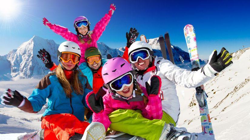 lyžovačka, lyže, zima, hory, sneh, rodina,...