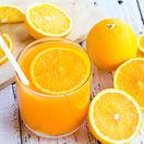 pomaranč, pomarančový džús