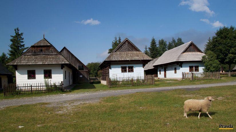 skanzen, pribylina, múzeum liptovskej dediny,...