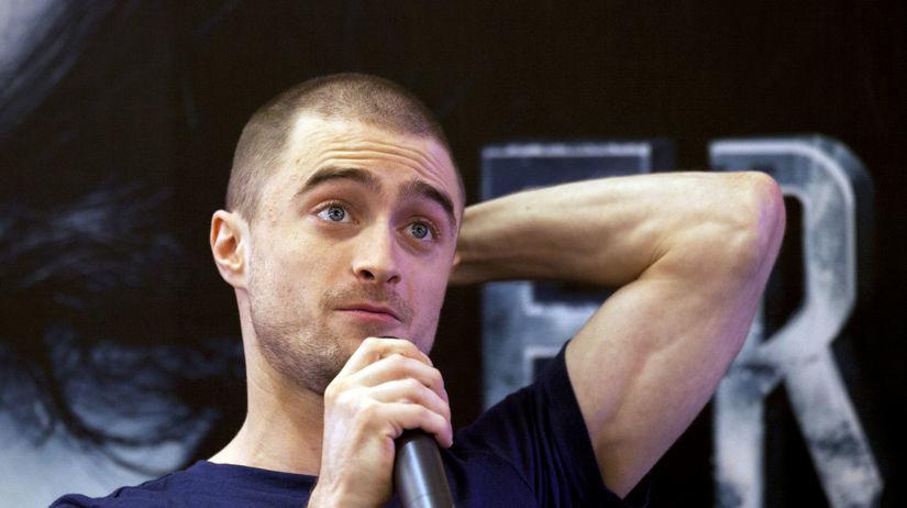 Herec Daniel Radcliffe na stretnutí s médiami v...