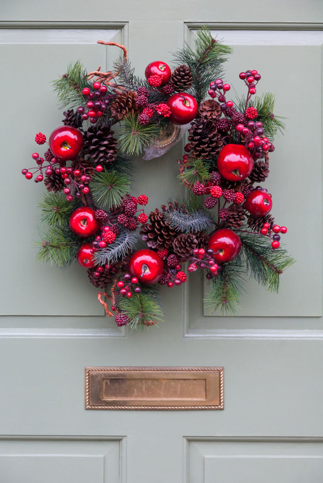 4431566d6 Vianočné vence na dverách majú svoje čaro! Pozrite sa - Nápady ...