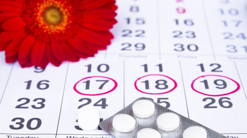 menštruácia, kalendár