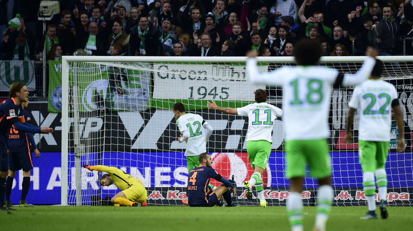 Wolfsburg, radosť