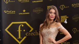 Moderátorka Fashion TV Jasmína Alagič.
