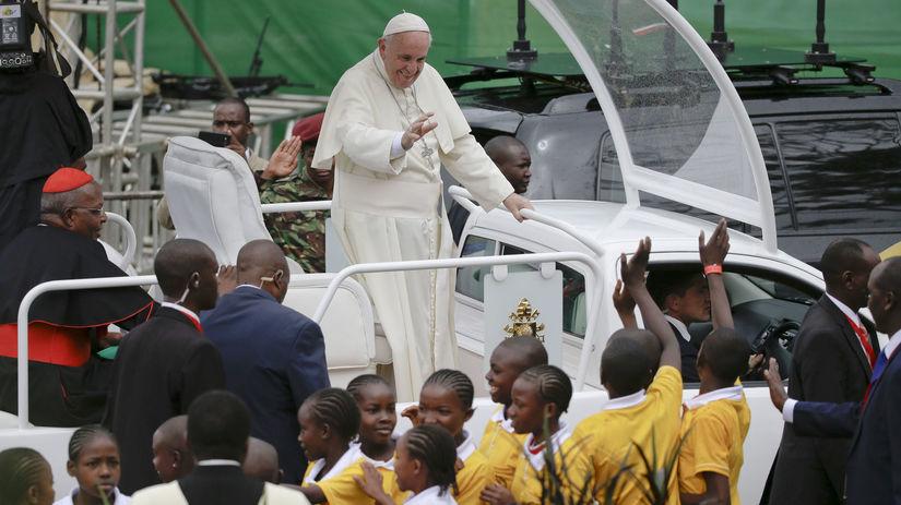 pápež František, Nairobi, Afrika