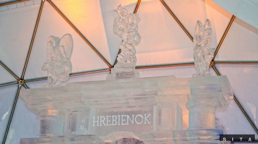 Tatranský ľadový dóm, Hrebienok, ľadový chrám,...