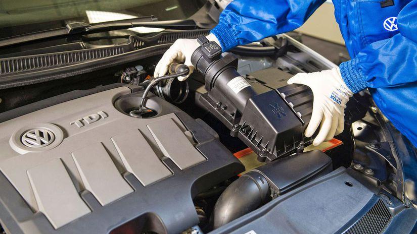 VW - motor TDI oprava