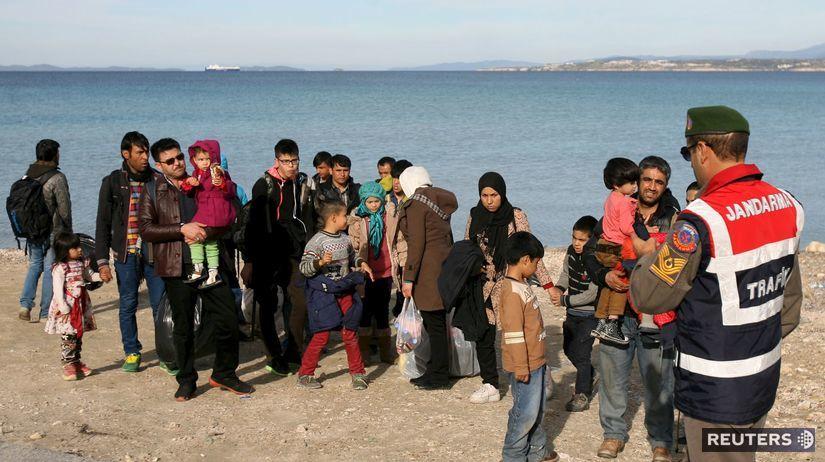 Turecko, utečenci,
