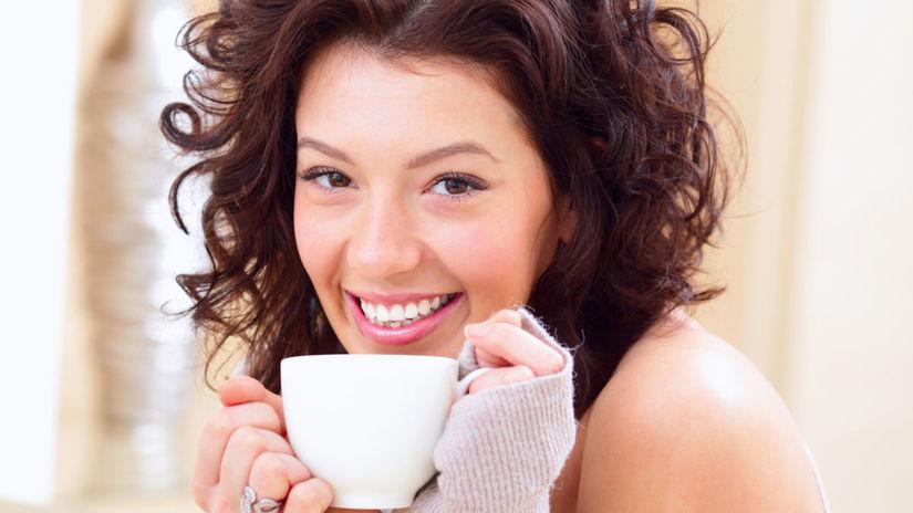 čaj, schudnúť