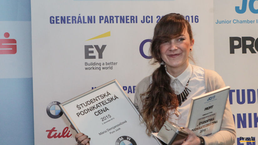 študentská podnikateľská cena, Mária Demjanovičová