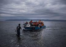 utečenci, Grécko