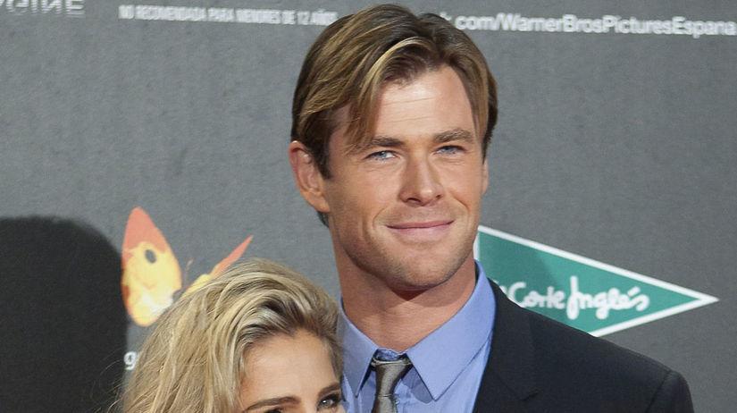 Elsa Pataky a jej manžel Chris Hemsworth