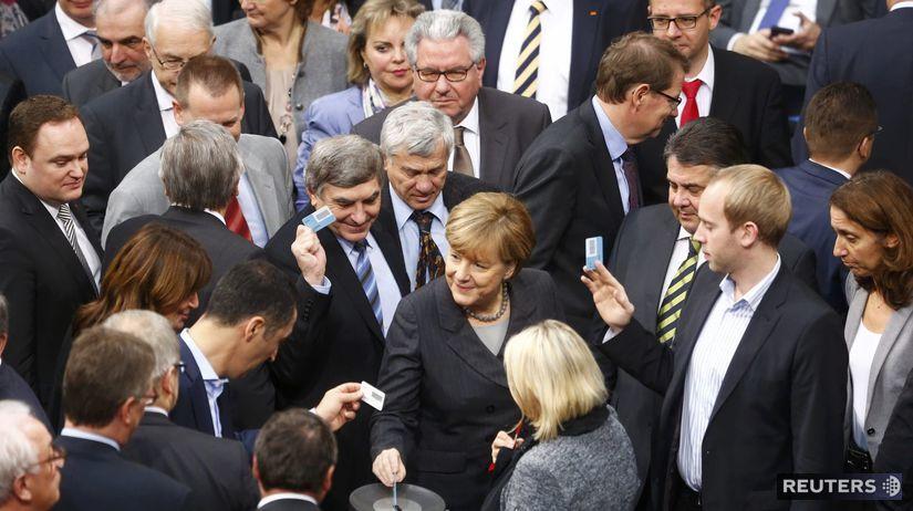 Nemecko, Merkelová