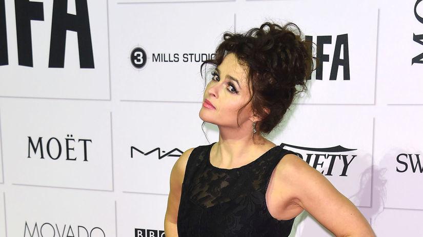 Herečka Helena Bonham Carter.