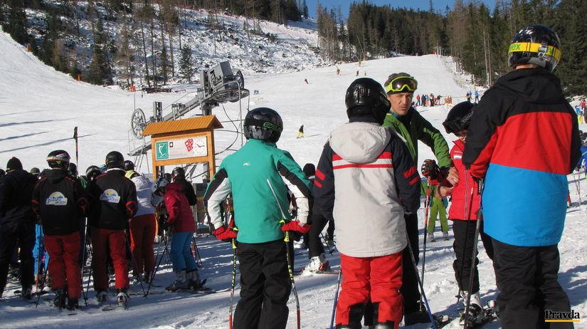 Tatry, sneh, lyžovačka, lyžiarska sezóna, svah