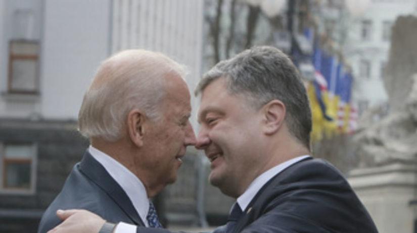Porošenko, Biden
