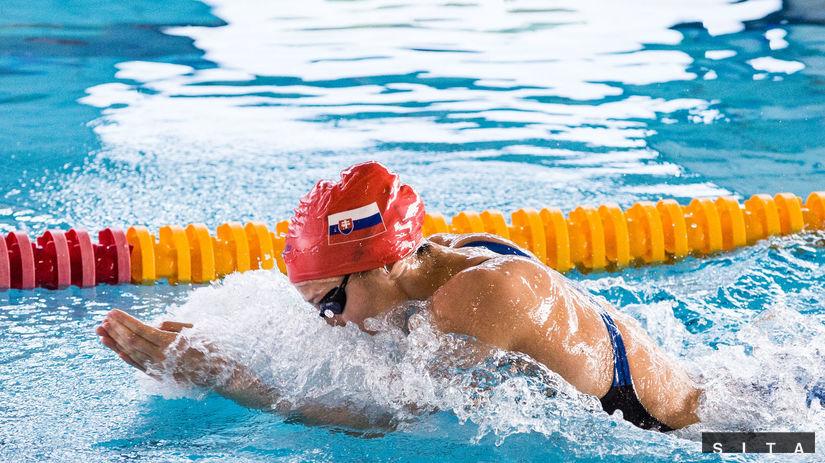 Andrea Podmaníková, plávanie
