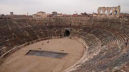 Verona, Taliansko, amfiteáter,