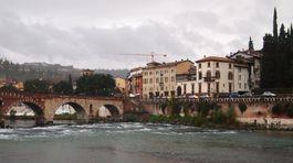 Verona, Taliansko, mesto, rieka,
