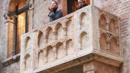 Verona, Taliansko, Róme a Júlia, balkón