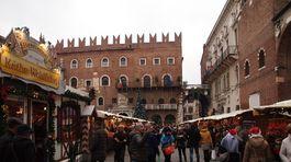 Verona, Taliansko, vianočné trhy,