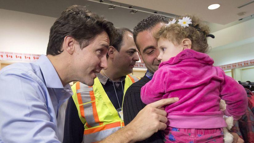 utečenci, migranti, kanada, Trudeau