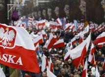poľsko, demonštrácia, protest, manifest,