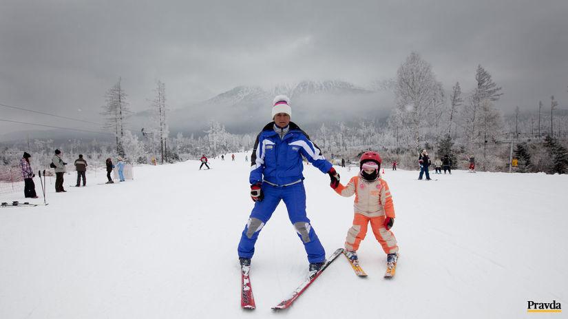lyžovanie, prázdniny, vysoké tatry, sneh,...