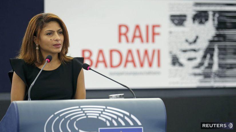 Sacharovova cena, Ensaf Hajdarová