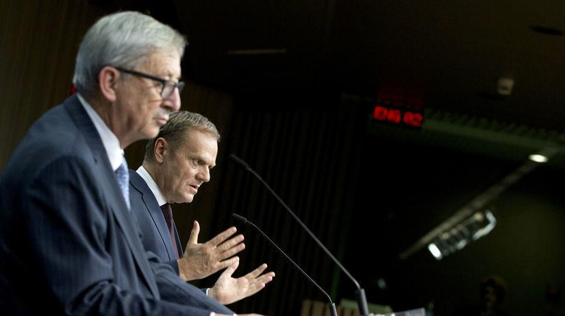 Donald Tusk, Jean-Claude Juncker