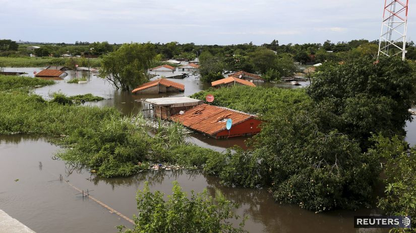 paraguaj, záplavy
