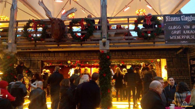 vianocne trhy, Oslo