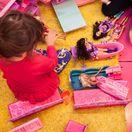 Barbie, bábika, dieťa, dievča, hra, ružová, hračka