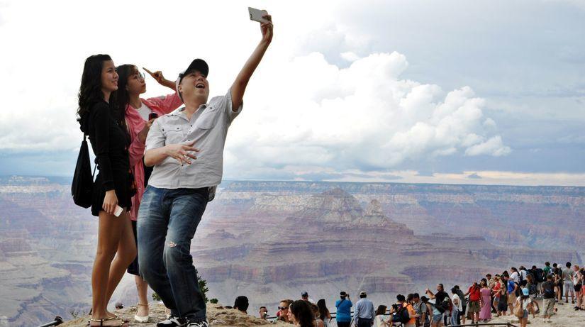 Grand Canyon, selfie