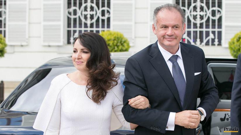 prezident SR, inaguracia, Andrej Kiska, kiska s...