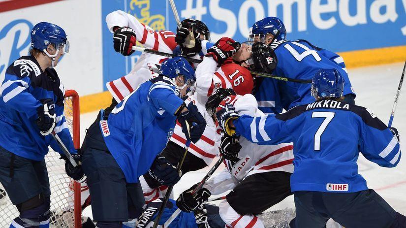Fínsko, Kanada, hokej,