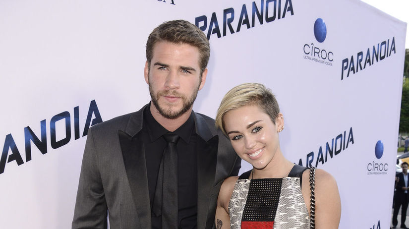 Liam Hemsworth a speváčka Miley Cyrus