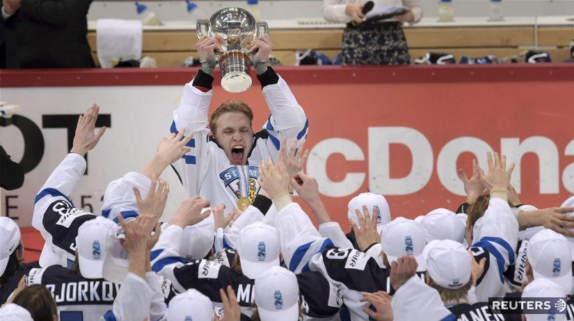 MS hráčov do 20 rokov, Fínsko, hokej, radosť