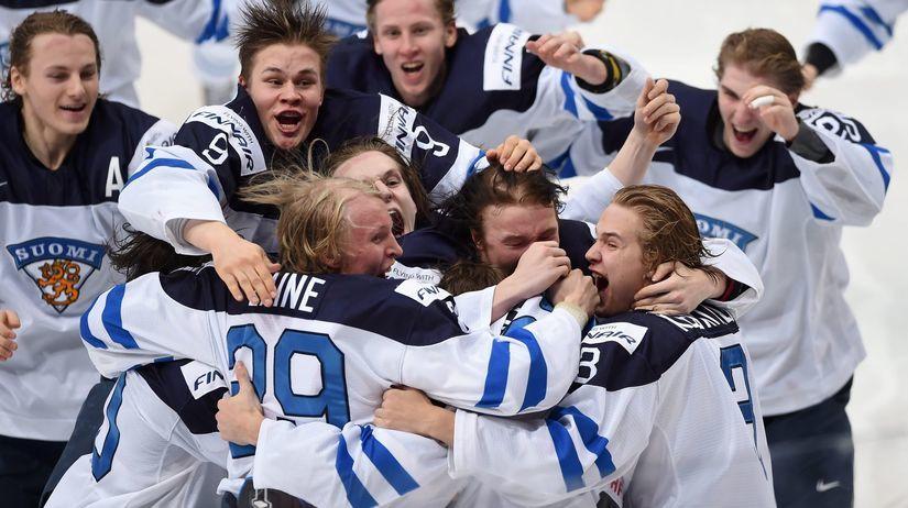 Fínsko, radosť, hokej