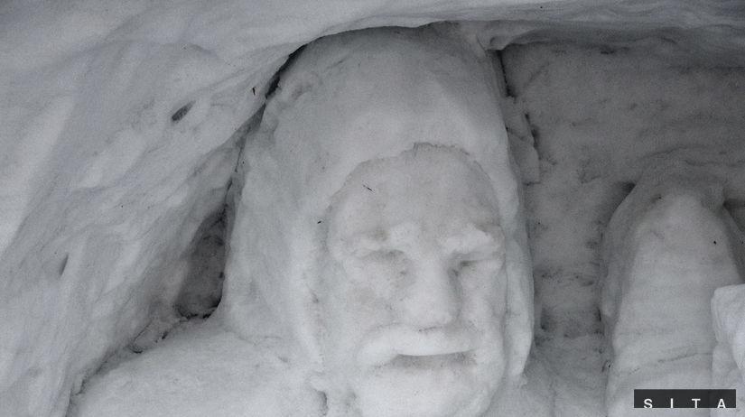 Rainerova chata, snehový betlehem, zima, sneh,...